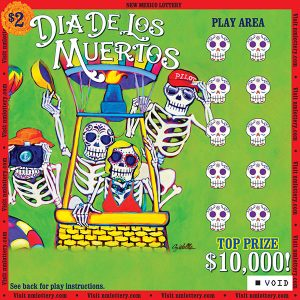 Dia de Los Muertos scratcher