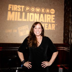 Theresa Royce Rodgers (on behalf of Cecil Royce) who has a 1 in 5 chance of becoming the First POWERBALL Millionaire of the Year