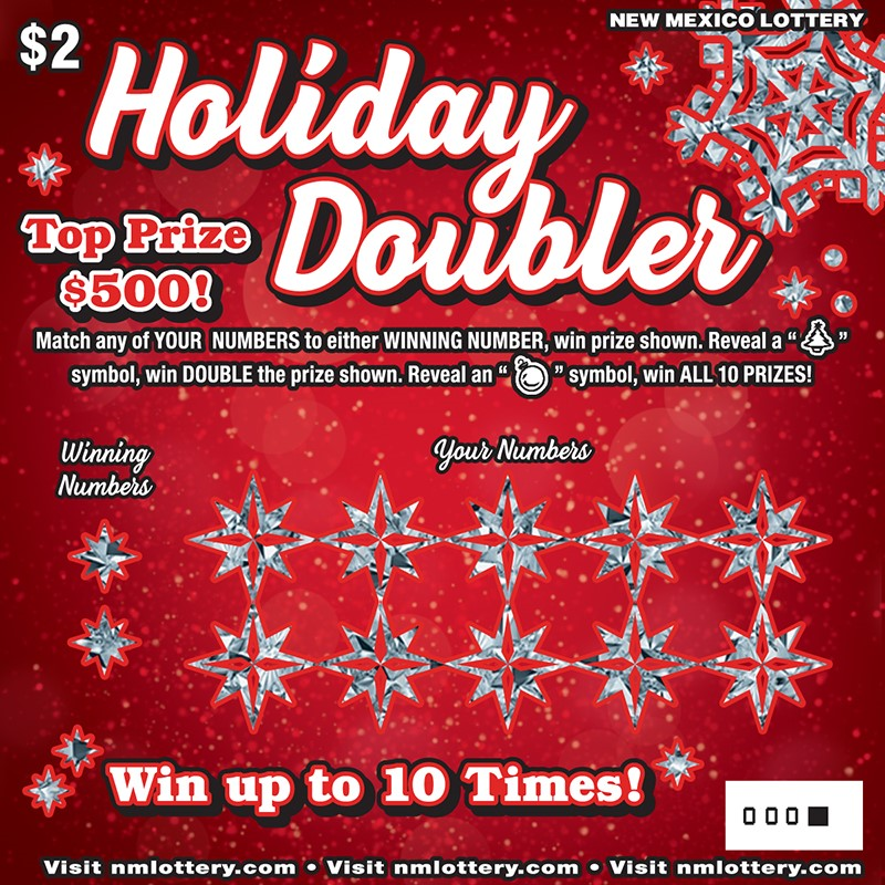 Holiday Doubler Scratcher