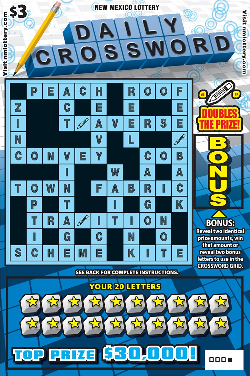 Daily Crossword Scratcher