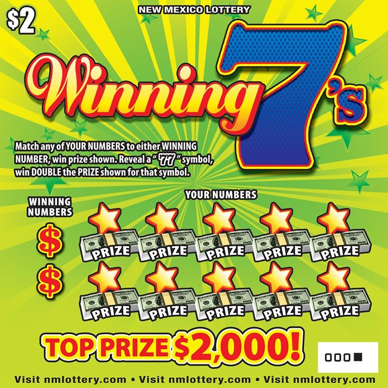 Winning 7's Scratcher