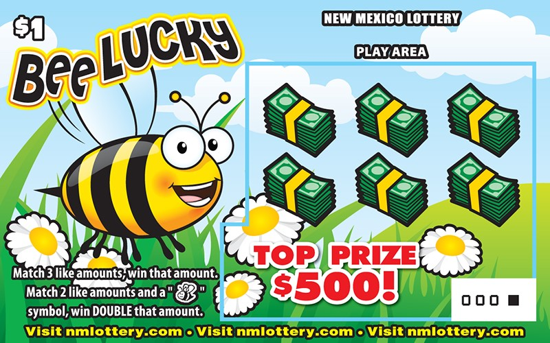 Bee Lucky Scratcher