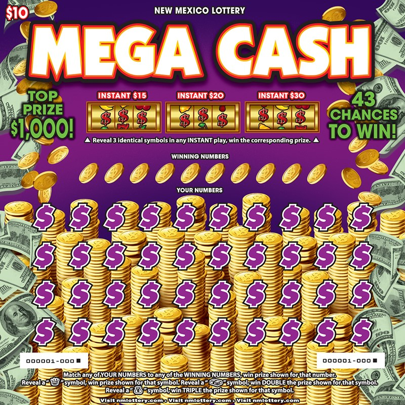 Mega Cash scratcher