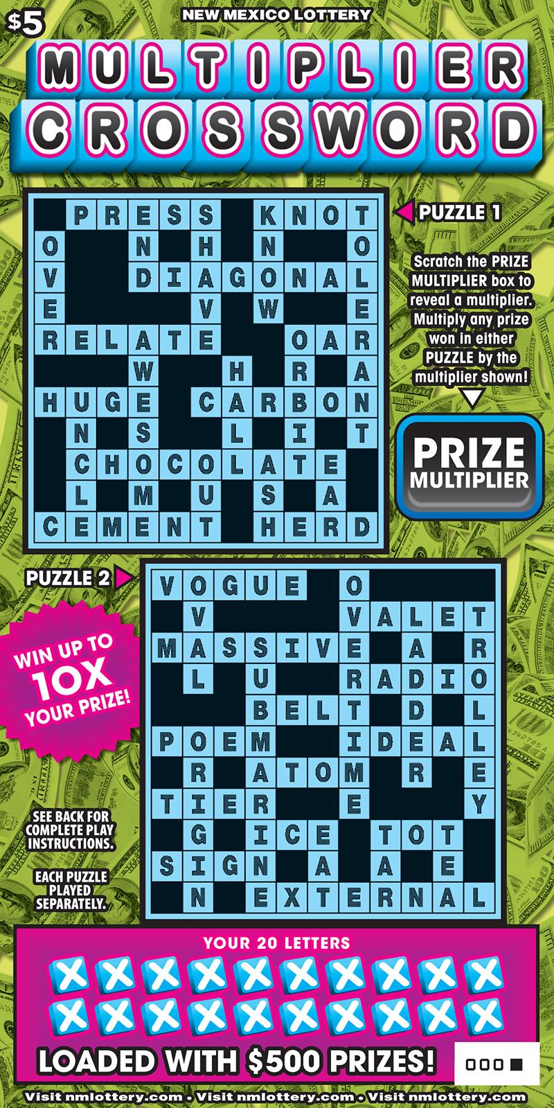 Bingo Squared Scratcher