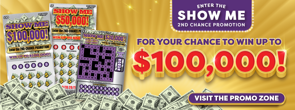 Enter the Road to $1 Million - 2nd Chance Promotion! - click for details