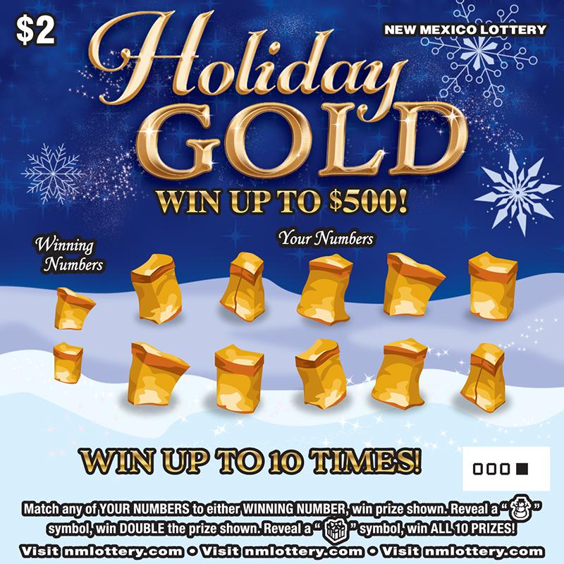 Holiday $25 Scratcher